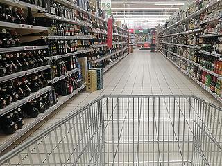 A boltokban nem okozott sokkhatást a koronavírus