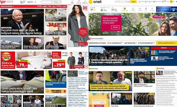 A legnézettebb lengyel híroldal, az onet.pl a svájci Ringier-Axel Springer tulajdonában van