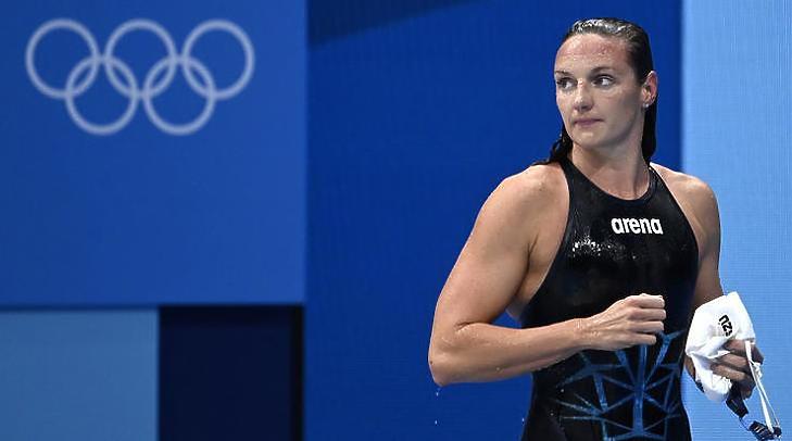 Elképesztően dühös kommenteket kapott Hosszú Katinka, aki a tokiói olimpián érem nélkül maradt (Fotó: MTI/Kovács Tamás)