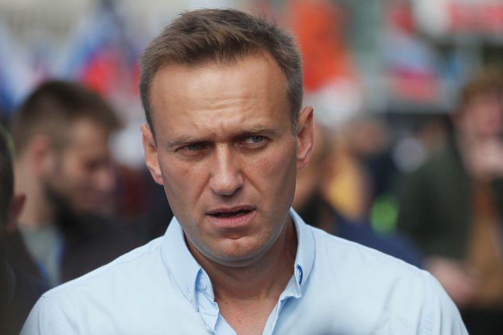 Alekszej Navalnij egy 2019-es fotón. Oroszországban életveszélyes ellenzékinek lenni (Fotó: MTI/EPA/Szergej Ilnyickij)