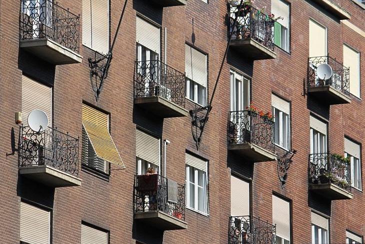 Egy pesti belvárosi lakást sem azonnal lehet eladni (fotó: Mester Nándor)