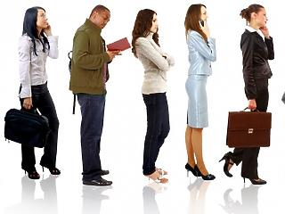 Három hónapig egy helyben toporgott a munkanélküliség