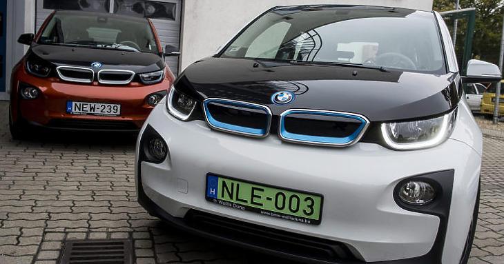Ma még a kevésbé árérzékenyek veszik az elektromos autókat (Fotó: MTI/Marjai János)