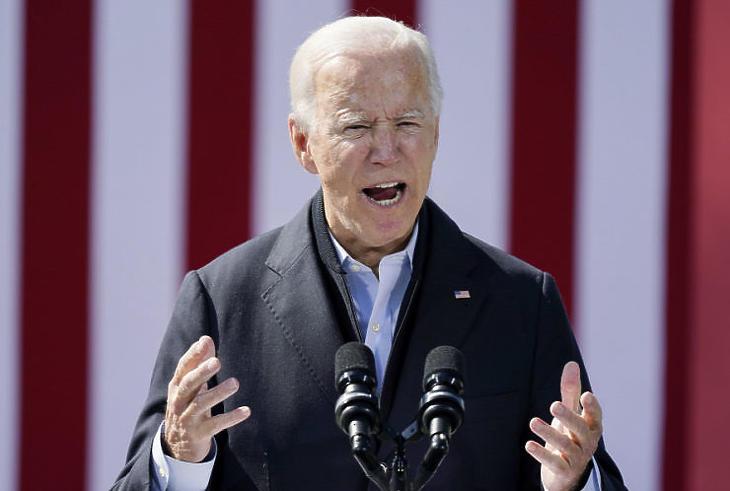 Joe Biden ígéretei nem izzasztották meg a befektetőket (Fotó: MTI/AP/Carolyn Kaster)