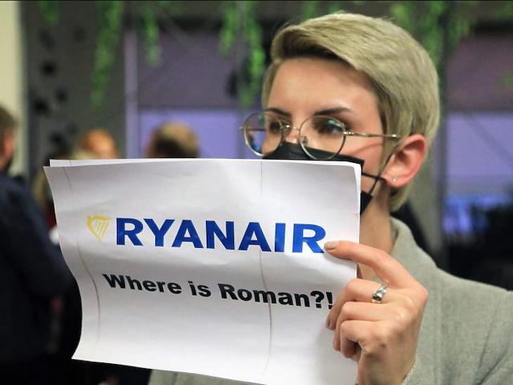 Az újságíró elfogása kapcsán az EU a Fehéroroszország elleni szankciókról tárgyal. Fotó: anandmarket.in