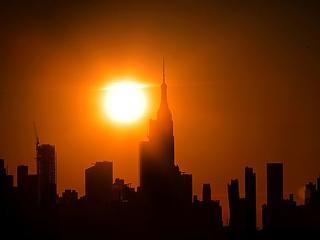 A nálunk szokásosnál is keményebb hőség sújtja Amerikát és Kanadát