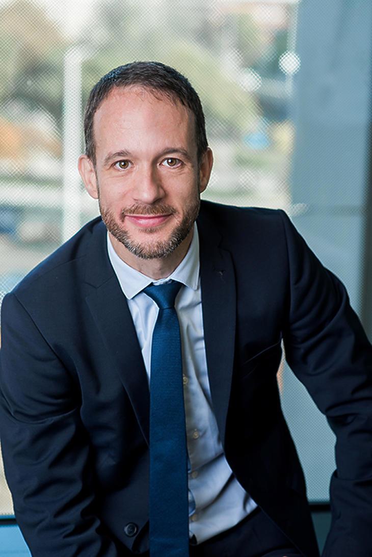 Simon Péter, a Raiffeisen Alapkezelő vezérigazgatója