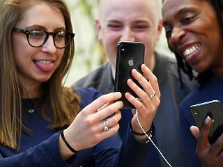 Nagy iPhone, nagy áremelkedés, szenvednek a magyar részvények