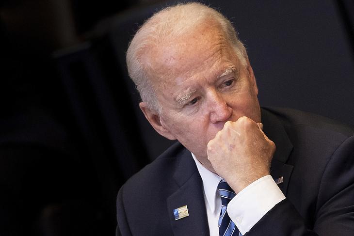Joe Biden piaci alapon akarja bebiztosítani Amerika vezető szerepét (Fotó: MTI/AP/Pool/Brendan Smialowski)