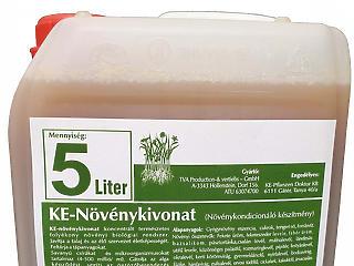 Biogazdálkodás csalánlé lombtrágyával