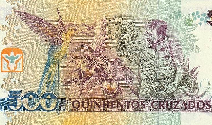 Cruzado, a brazil reál elinflálódott elődje (EJ)