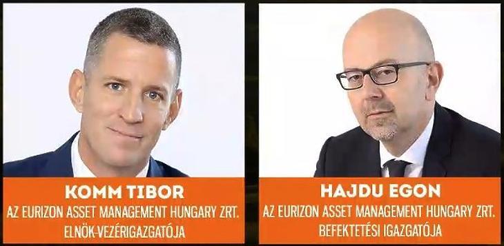 Komm Tibor és Hajdu Egon, Eurizon Asset Management Hungary