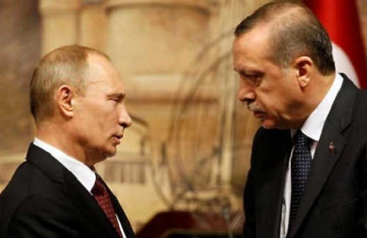 Putyint erősen aggaszthatja a török nyomulás (fotó: MTI)