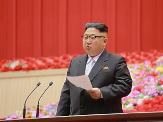 Kim Dzsongun nem akárkinek küldött üzenetet