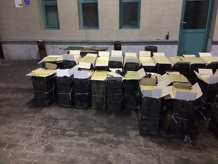 Meglátták a pénzügyőröket, visszafutottak Ukrajnába a csempészek