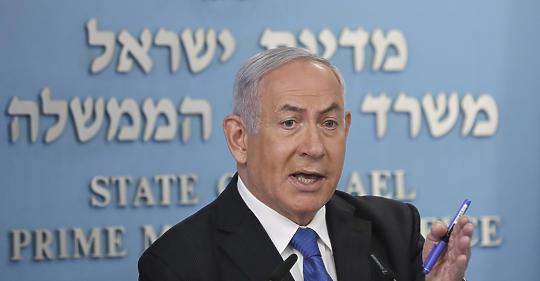 Éles figyelmeztetés Netanjahunak: megbukik a fauszti alku